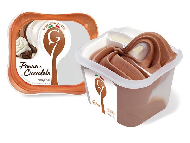 Panna e cioccolato